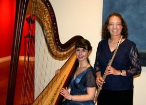 With flutist, Laura Smolowitz