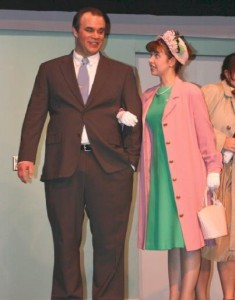 "With Steven Koglin in ""How to Succeed..."""