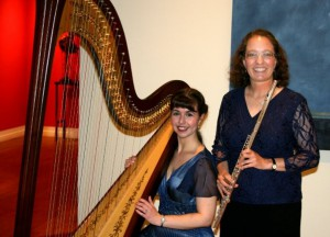 With flutist, Laura Smolowitz